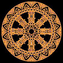 "Dhammacakka the First Sermon which is called ""Dhammacakkappavattanasutta"""