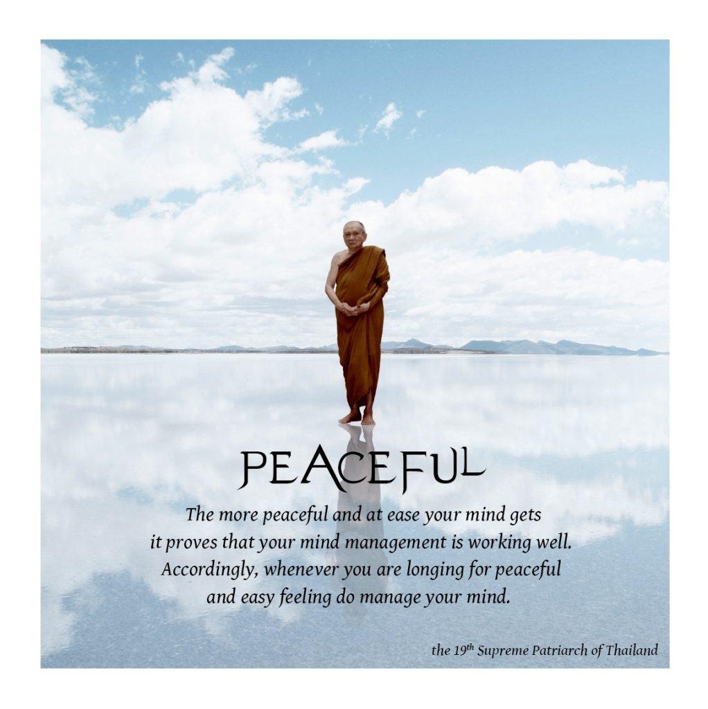 1 PEACEFUL