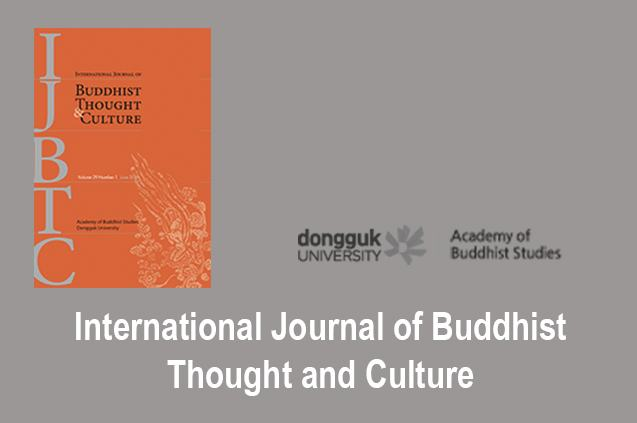 International Journal of Buddhist Thought and Culture dongguk