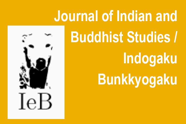 Journal of Indian and Buddhist Studies