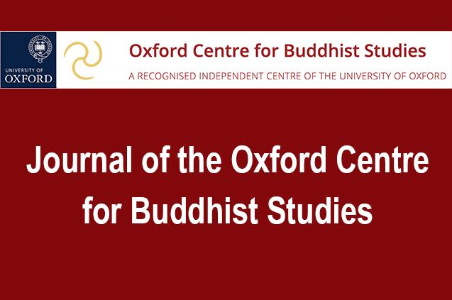 Journal of the Oxford Centre for Buddhist Studies