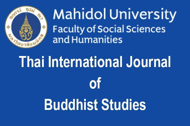 Thai International Journal of Buddhist Studies