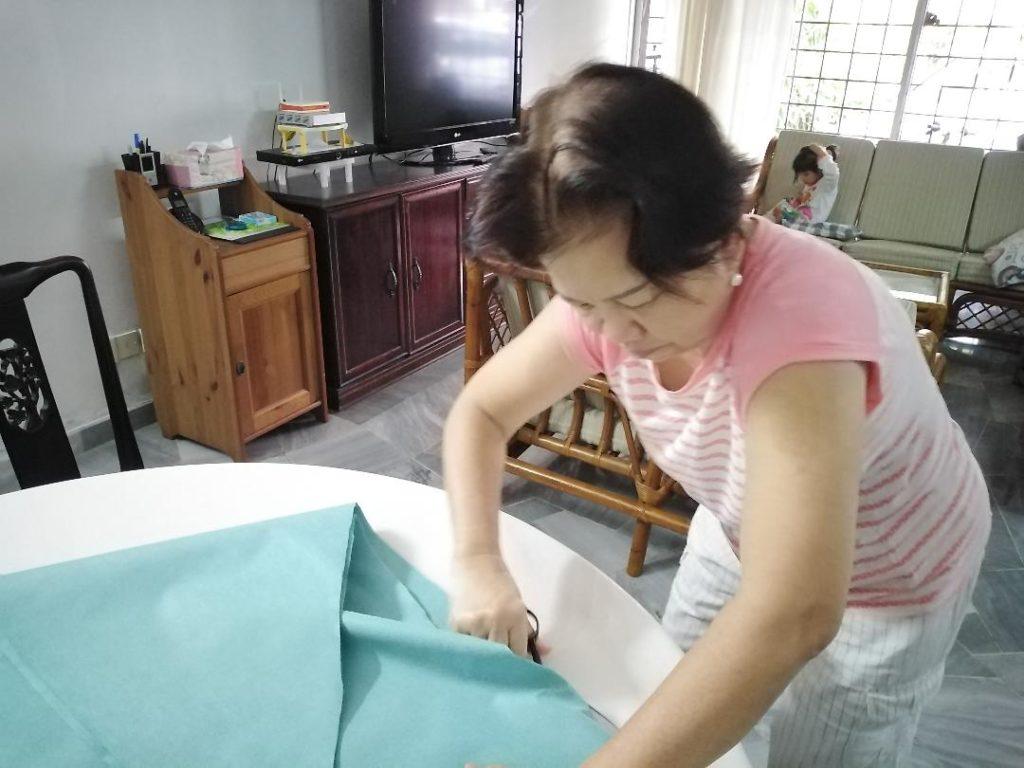 Cutting protective head gear
